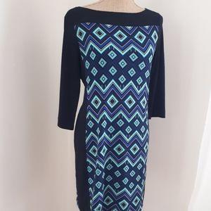 3/$10   Retro/Vintage Look Pattern Dress